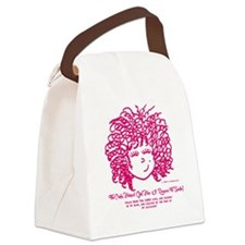 The Curly haired Girl knows the L Canvas Lunch Bag