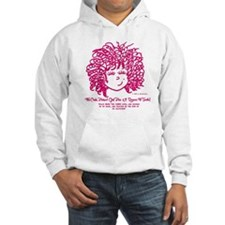 The Curly haired Girl knows the  Hoodie