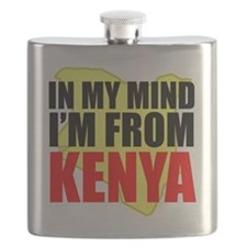 My Mind From Kenya Flask