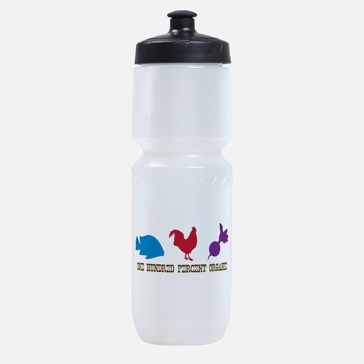 One Hunderd Percent Organic Sports Bottle