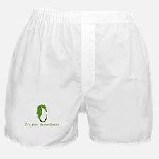 Seahorse It's Easy Boxer Shorts