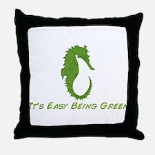 Seahorse It's Easy Throw Pillow