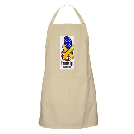 Thumbs Up Support BBQ Apron