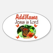 JESUS IS LORD Decal
