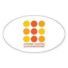 Summer Summer Summertime! Decal