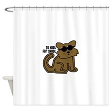 To Kool For Skool Shower Curtain
