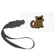 Cat With Sunglasses Luggage Tag