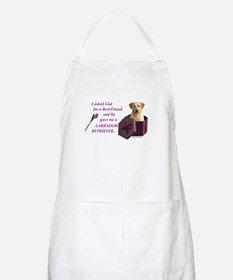 Labrador Retriever (Yellow) BBQ Apron