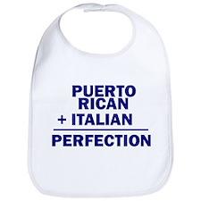 Puerto Rican + Italian Bib