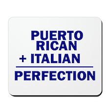 Puerto Rican + Italian Mousepad
