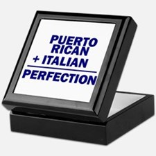 Puerto Rican + Italian Keepsake Box