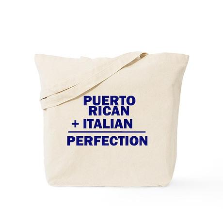 Puerto Rican + Italian Tote Bag