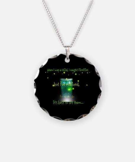 Glow Bugs Necklace