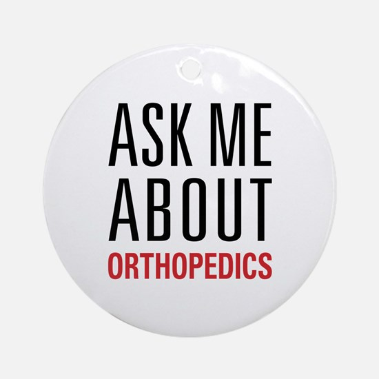 Orthopedics Ornament (Round)