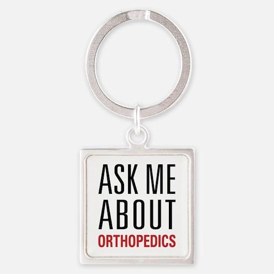 Orthopedics Square Keychain