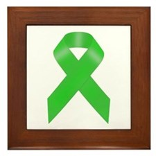 Awareness Ribbon Framed Tile
