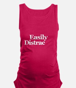 Easily Distracted Maternity Tank Top