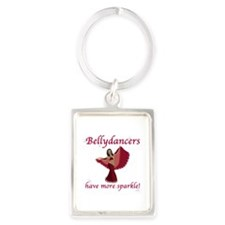 BD red sparkle 8in.png Keychains