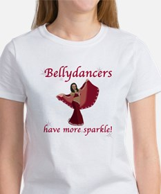 Red Bellydancer Women's T-Shirt