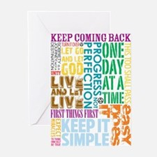 Cool Alcoholics anonymous Greeting Cards (Pk of 20)