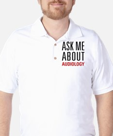 Audiology - Ask Me About - Golf Shirt