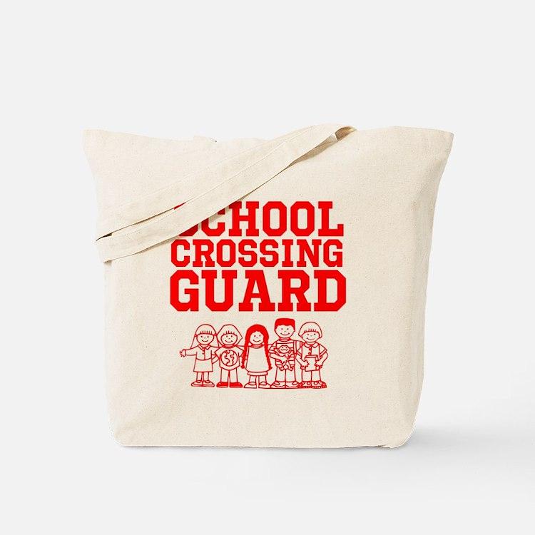 School Crossing Guard Tote Bag