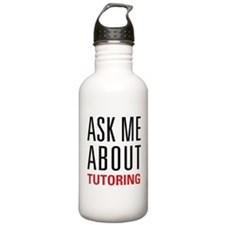 Tutoring - Ask Me - Water Bottle