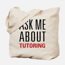 Tutoring - Ask Me - Tote Bag
