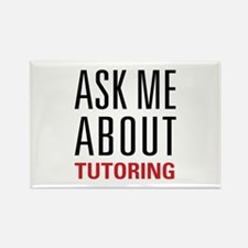Tutoring - Ask Me - Rectangle Magnet