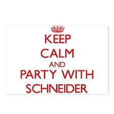 Schneider Postcards (Package of 8)