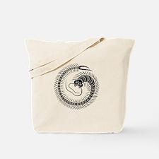 Centipede circle Tote Bag