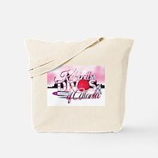 Kickball Divas of Atlanta Tote Bag