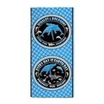 Whales Beach Towel Beach Towel