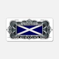 Proud To Be Scottish Aluminum License Plate