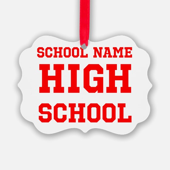 High School Ornament