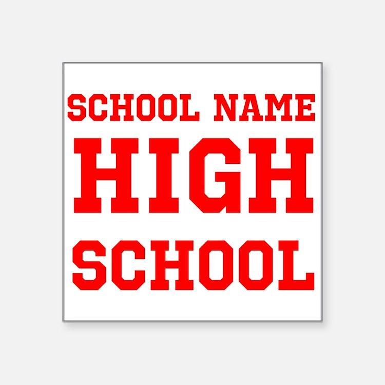 High School Sticker