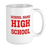 High school Large Mugs (15 oz)