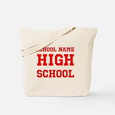 High School Tote Bag