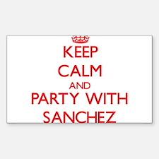 Sanchez Decal