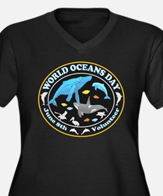 World Oceans Day Plus Size T-Shirt