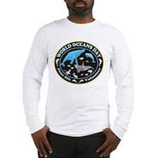 World Oceans Day Long Sleeve T-Shirt