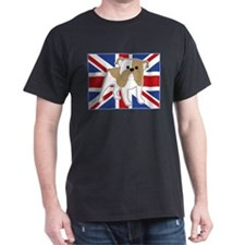English Bulldog Flag T-Shirt