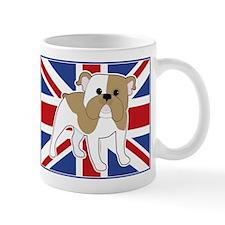 English Bulldog Flag Mug