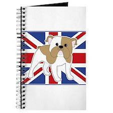 English Bulldog Flag Journal