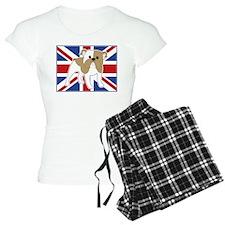 English Bulldog Flag Pajamas