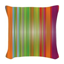 Texture Lines Woven Throw Pillow