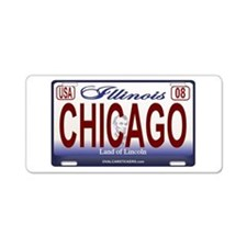 Unique Illinois Aluminum License Plate