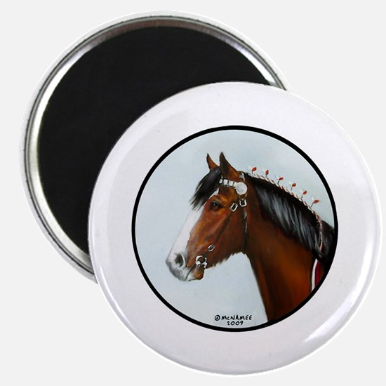 Clydesdale Magnet