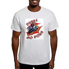 Divers Go Down T-Shirt