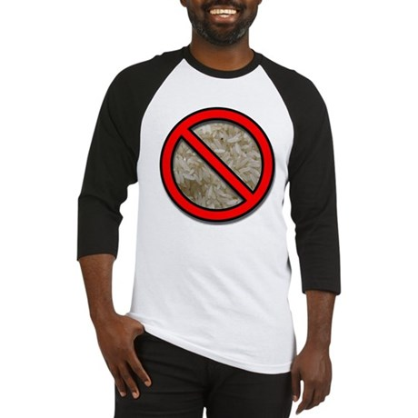 No Rice Baseball Jersey
